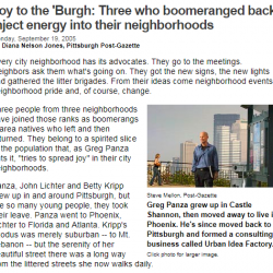 Joy to the 'Burgh: Three who boomeranged back inject energy into their neighborhoods