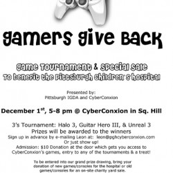 Charity Gaming Event This Saturday