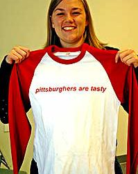 Pittsburghers are Tasty – New York Times Looks at T-shirts and Cities