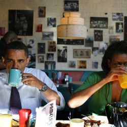 Speaking of Pamela's, Obama picks Pamela's Diner and the Steelers
