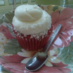 Red Velvet Cupcake at Vanilla Pastry Studio