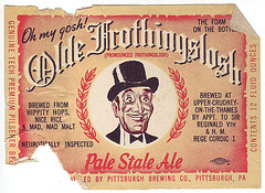 Oh My Gosh – It's Frothingslosh! The 15th Annual Iron City Brewing Oberbrau Haus Beer Collectibles Show