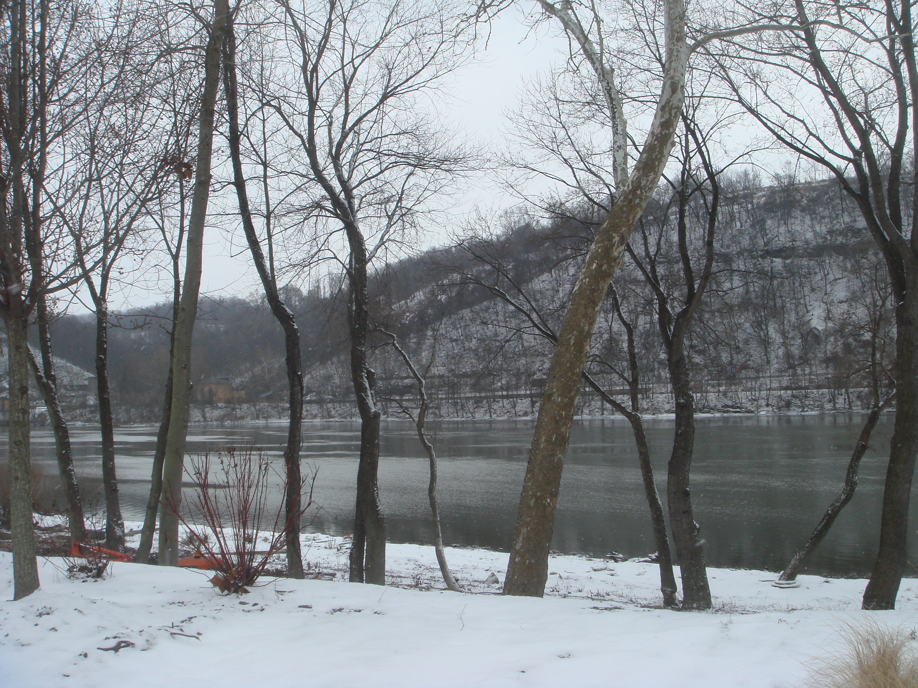 View of the Allegheny River from Chapel Harbor (Photo by Andrew)