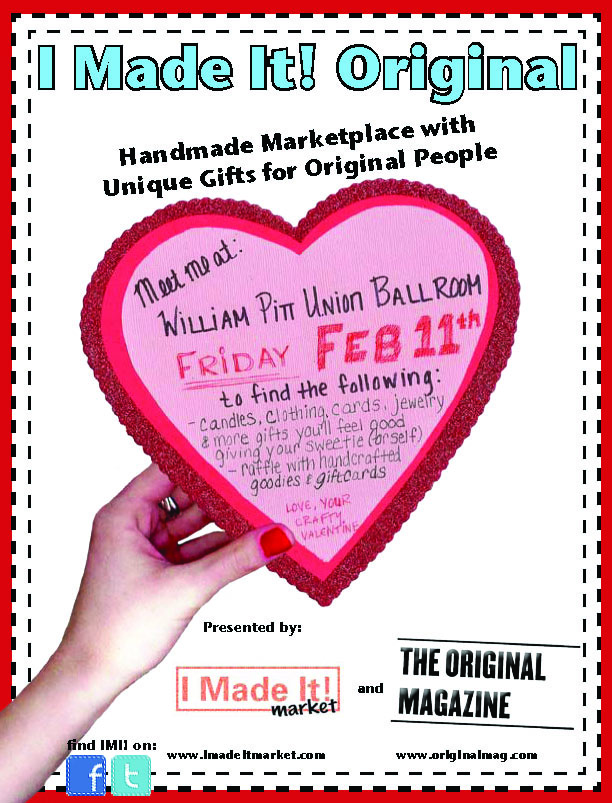 Pick Up Some Valentine's Day Gifts Made with Love at I Made It Markets