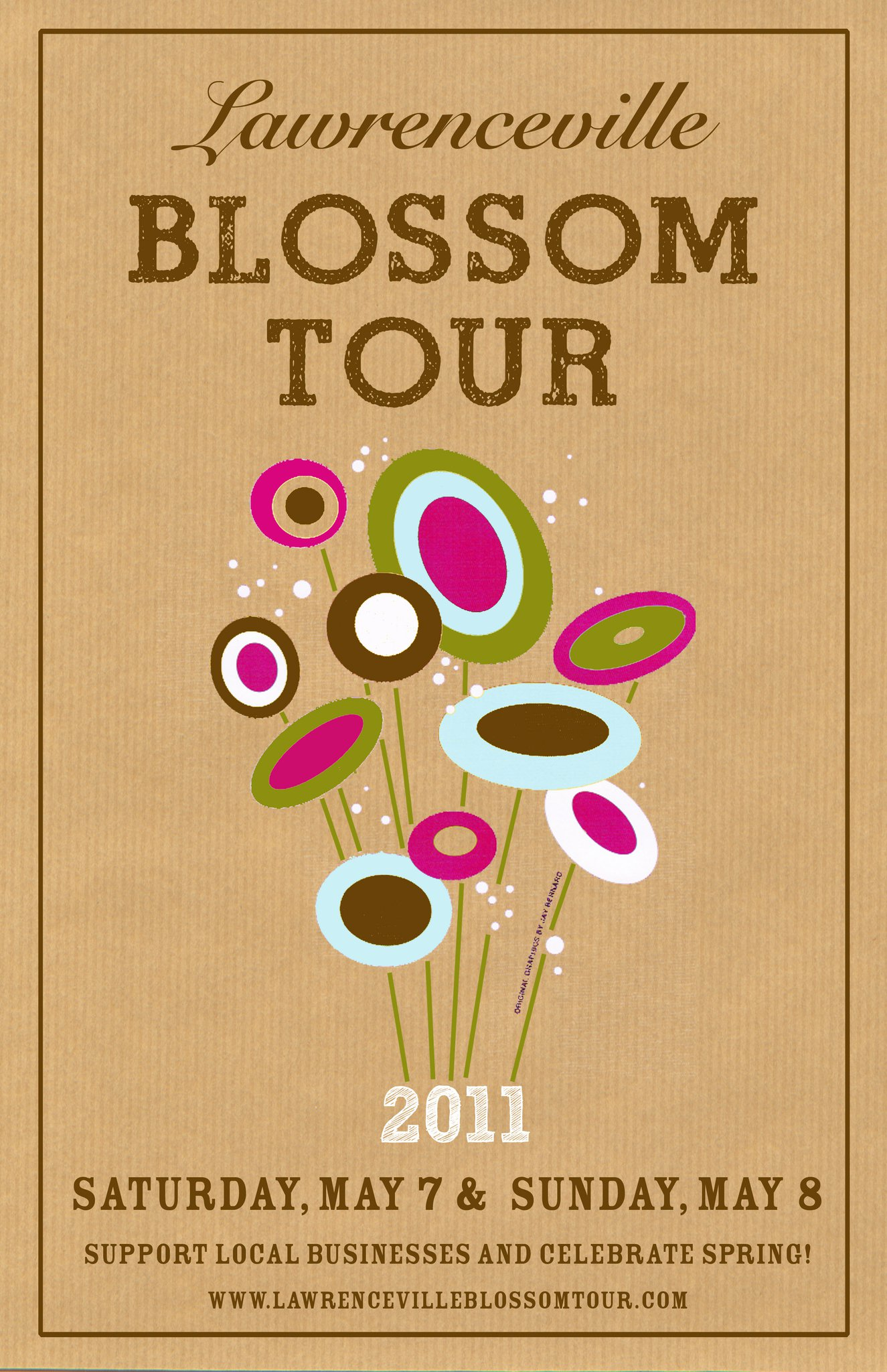 Lawrenceville Blossom Tour