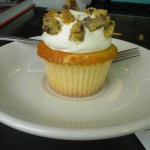 Vanilla Chocolate Chip Cookie cupcake