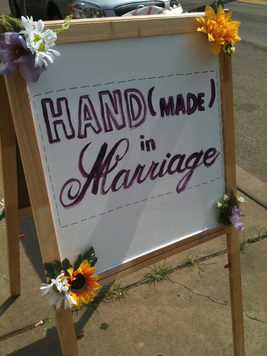2nd Annual Handmade in Marriage is May 21, 2011