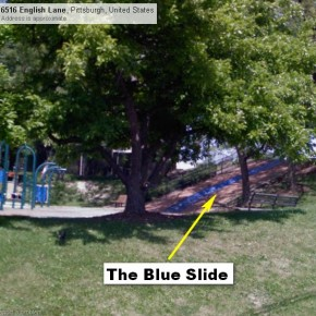 Blue Slide Park = BEST PLAYGROUND EVER