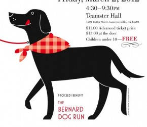 Eat Spaghetti and Support the Lawrenceville Dog Park – Friday March 2