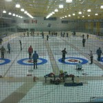 The RMU Hockey Rink Set Up for TropiCurl