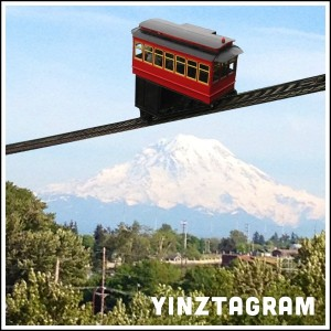 Yinztagram - Incline over Seattle