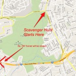 Urban Hike Scavenger Hunt &#8211; Be There or Be Square