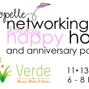 Tue. Nov 13 – Propelle Holiday Happy Hour
