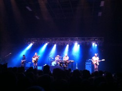 Local Natives performing at Stage AE North Shore