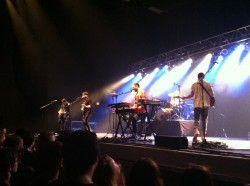 Local Natives performing at Stage AE in Pittsburgh
