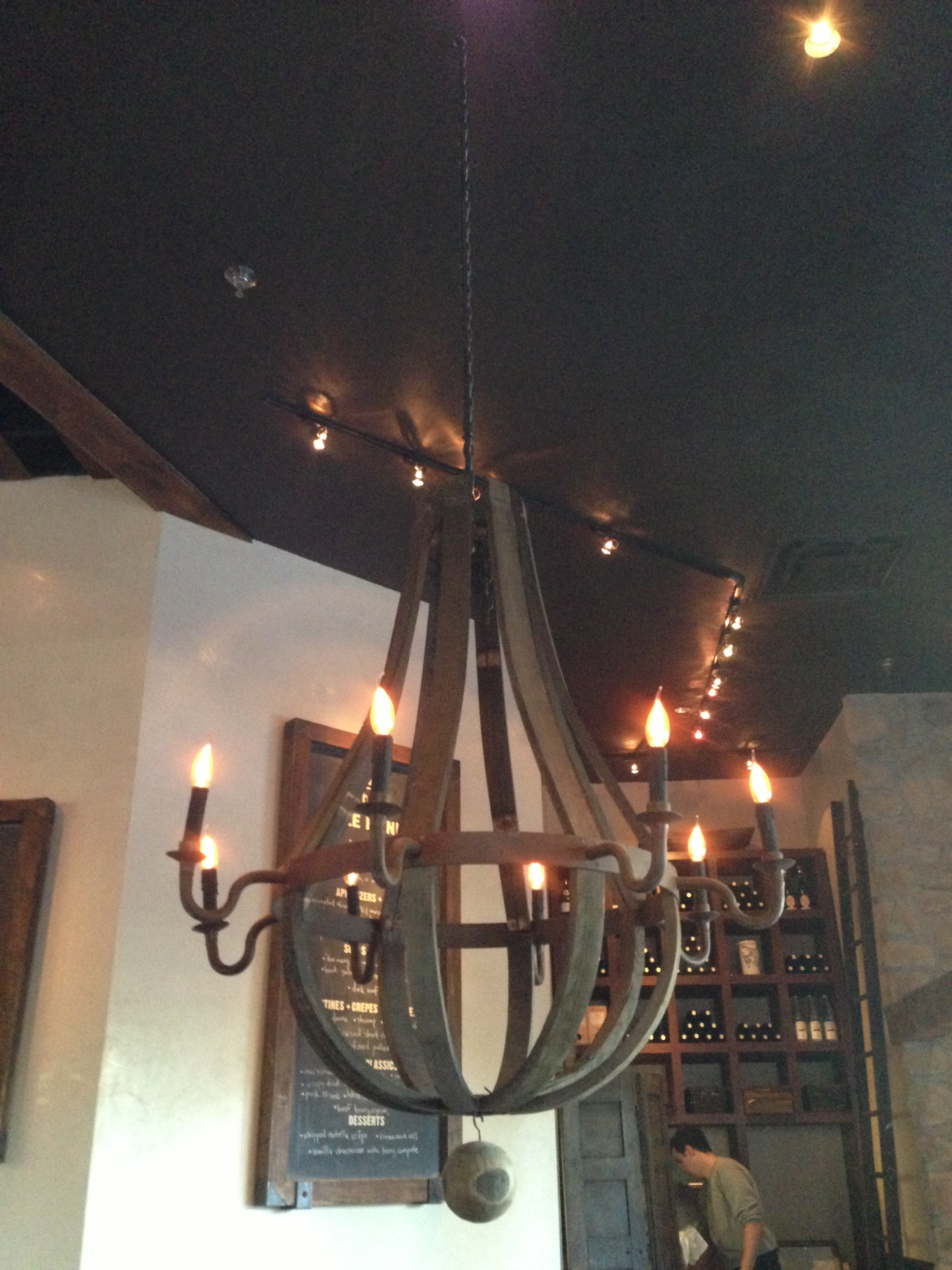 Recycled wine barrel chandeliers i heart pgh recycled wine barrel chandeliers arubaitofo Choice Image