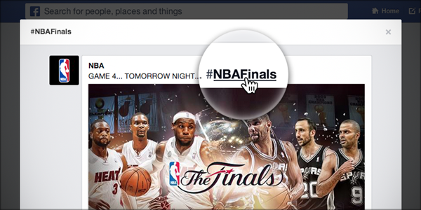 Clickable hashtags are here for Facebook!