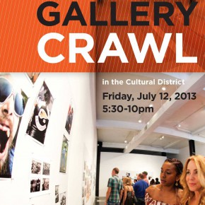 Cultural District's Gallery Crawl Tonight