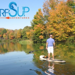Standup Paddleboarding in Western, PA