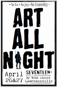 2014 Art All Night Lawrenceville