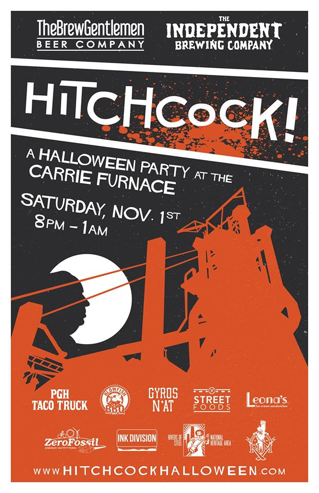 Pittsburgh Halloween Party Carrie Furnace