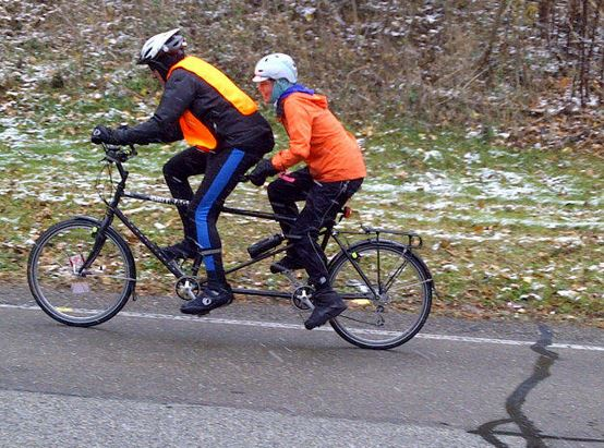 From the 2012 Dirty Dozen bike ride - why not take the tandem bike out for a spin on the 13 steepest hills in Pittsburgh?