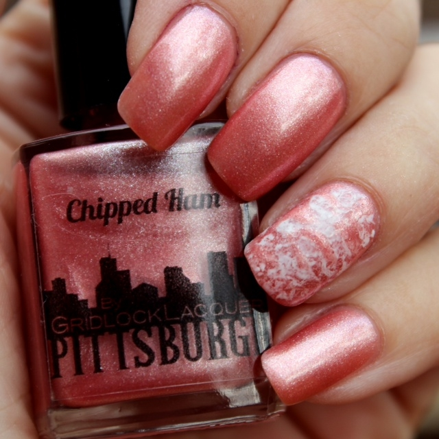 chipped ham pink is now a nail polish color i heart pgh