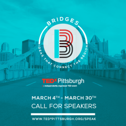TEDxPittsburgh is looking for speakers!