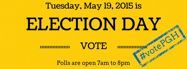 Pittsburgh Primary Election Day #votePGH
