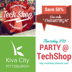 TechShop Party Coupon