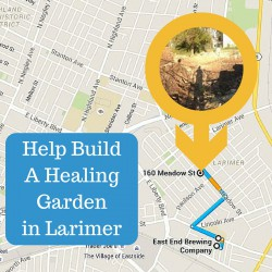 Help East End Brewing Build a Healing Garden on Sat. Oct. 3