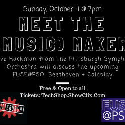Beethoven + Coldplay + Pittsburgh Symphony = FUSE@PSO