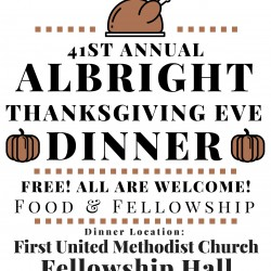 An Invitation to Spend Thanksgiving Eve with Your Neighbors