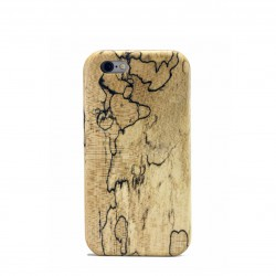 24 Gifts of Pittsburgh: Spalted Maple Wood iPhone Kerf Case