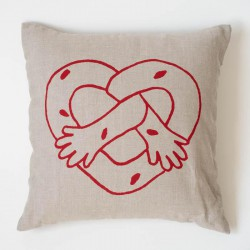 24 Gifts of Pittsburgh: Pretzel Hug Pillow