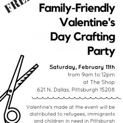 Family Friendly Valentine's Making Party @ The Shop in Homewood