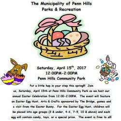 Penn Hills Easter Egg Hunt 2017