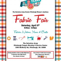 Salvation Army Fabric Fair