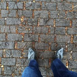 Roslyn Place: A Street Paved in Wood