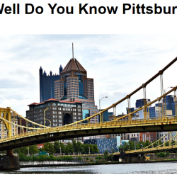Take this Pittsburgh Quiz & You Could Win A Month of Free Rent