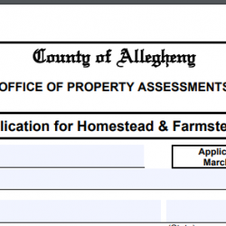 Property Tax Savings in Allegheny County – Homestead/Farmstead (Act 50) Exclusion