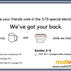 Voter engagement startup, Motivote coming to Pittsburgh to meet voters in the PA 18 district