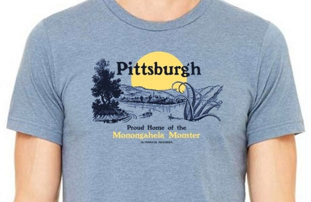 Pittsburgh Alternate Histories Book and t-shirt