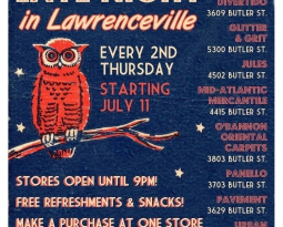 Shop Late Night in Lawrenceville