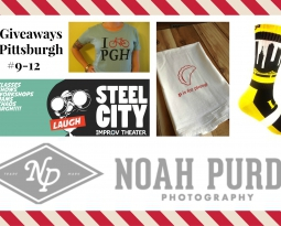 12 Giveaways of Pittsburgh #9-12: Portraits, Improv and Some of the Best Pgh Gear Around