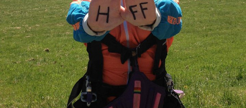 """Pittsburgh is """"Awesome"""": A $1000 Grant, Skydiving, and Supporting Haitian Families"""