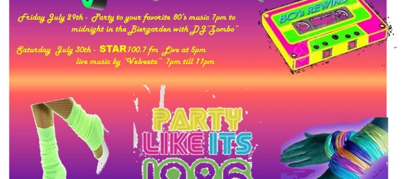 Party Like Its 1986