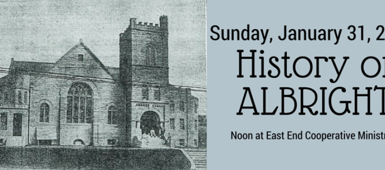 Lecture this Sunday on the History of 109-year-old Bloomfield Church