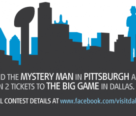 Find the Mystery Man + You Could Be Headed to Dallas to Watch the Super Bowl