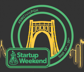 Startup Weekend is back!  Join us Sept. 18-20 for Startup Weekend Civic